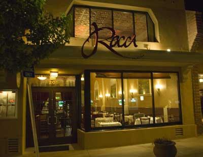 Rocca Outstanding Italian Cuisine Restaurant Burlingame San Mateo